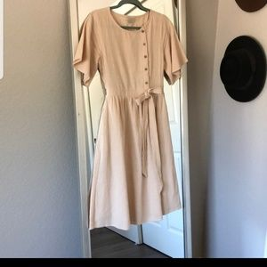 Cream Roolee dress